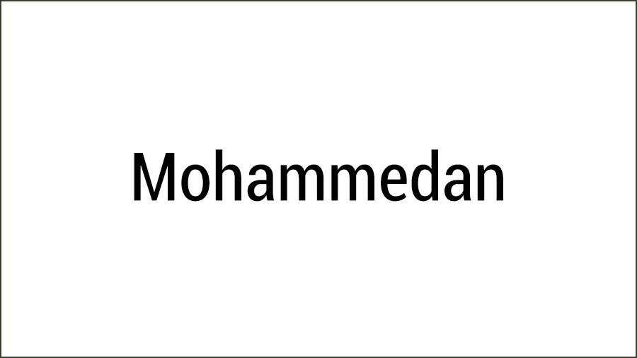 Mohammedan